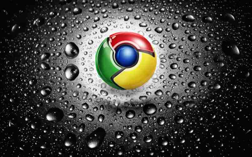 fondo navegador google negro efecto agua