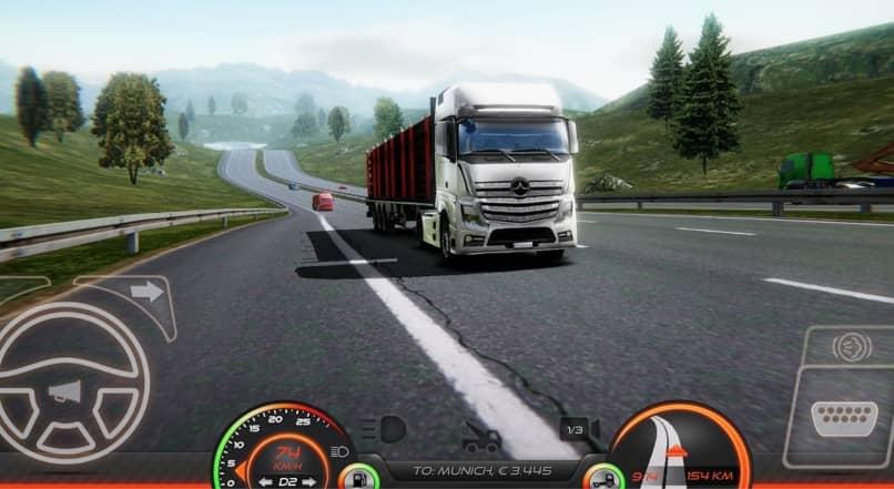 simulador de camiones para android