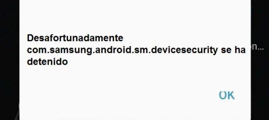 solucionar el error del Samsung Galaxy S7