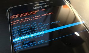 solucionar el error del Samsung Galaxy S7(2)