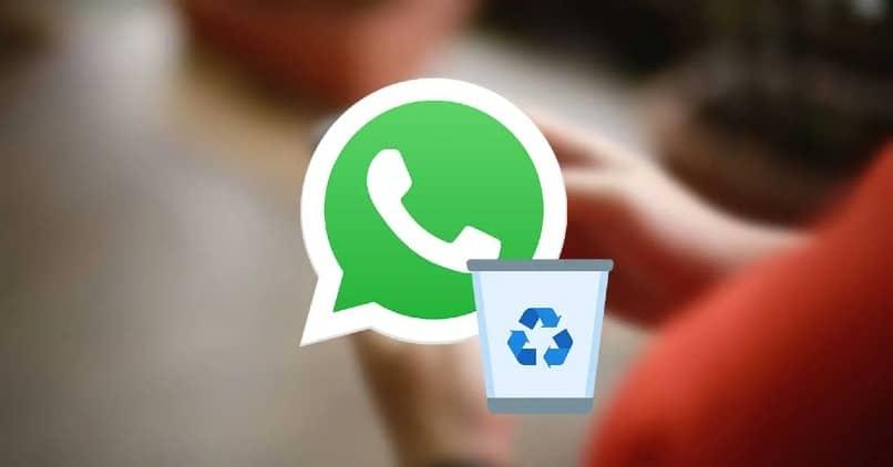 Aplicacion de whatsapp con papelera
