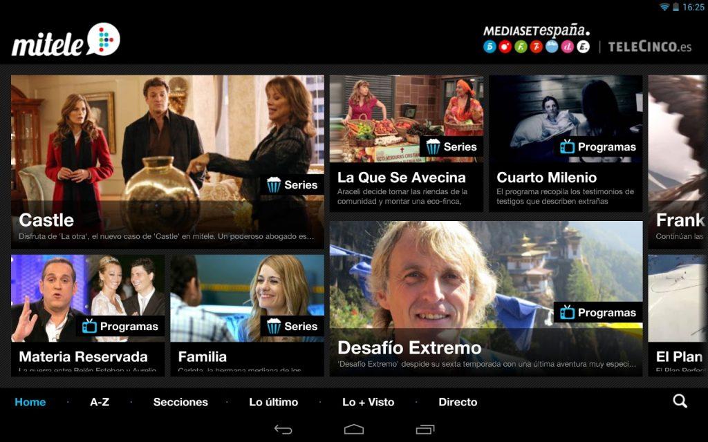 Mitele, la Mejor Aplicación para ver Telecinco Online | Mira Cómo ...