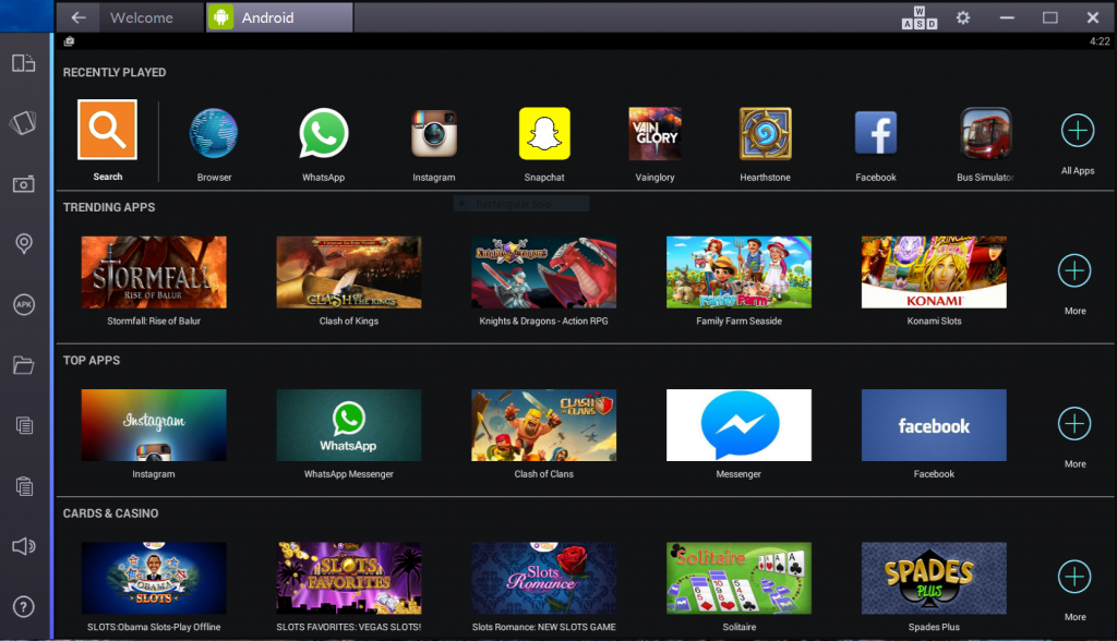 BlueStacks emulador