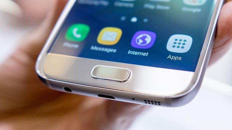 Corregir errores en Galaxy S7