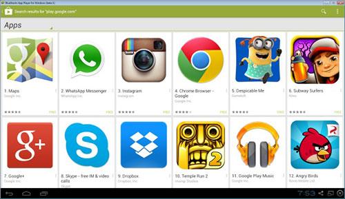Descargar Google Play Store para PC