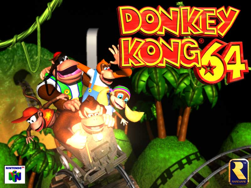 Descargar Donkey Kong Nintendo 64 Un Clasico En Cualquier