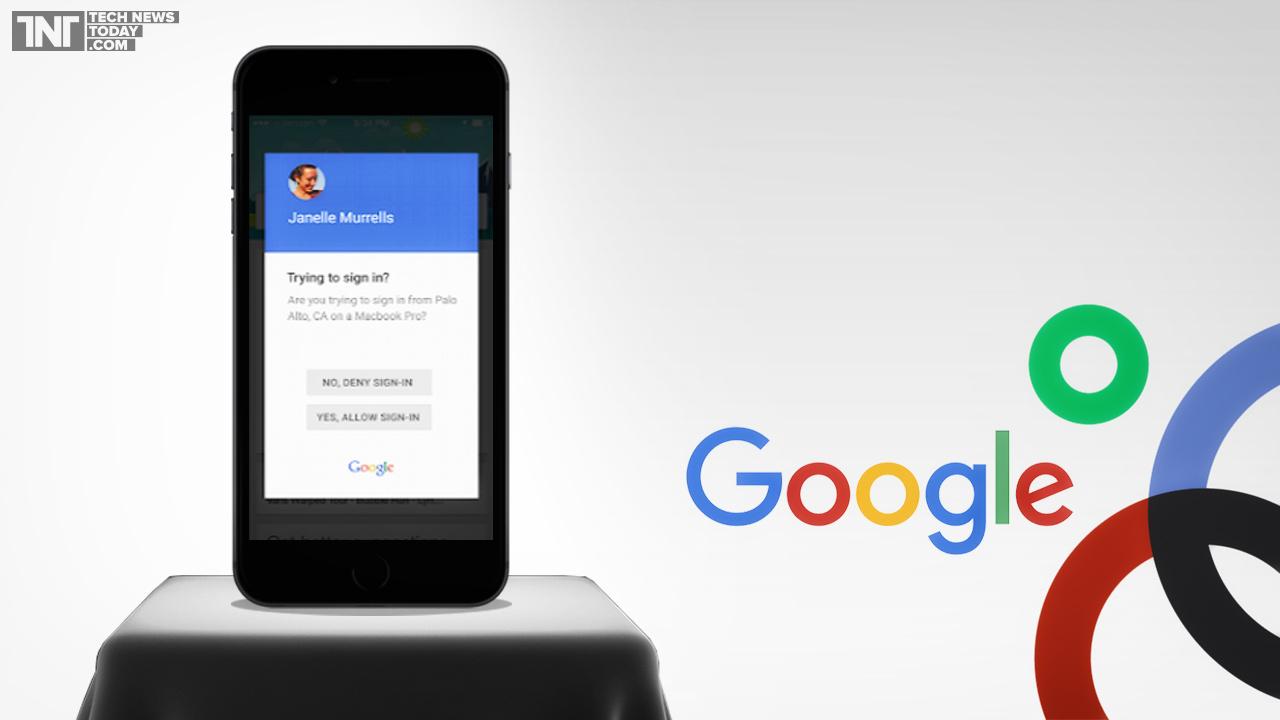 Google Prompt ciberdelincuencia
