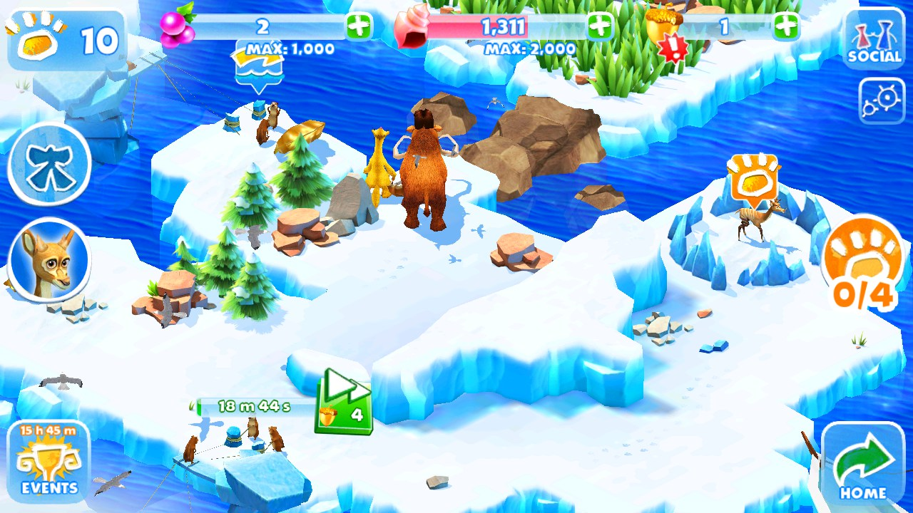 Ice Age Adventures para Android