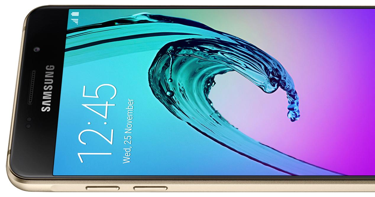 Móvil Samsung se queda en el logo