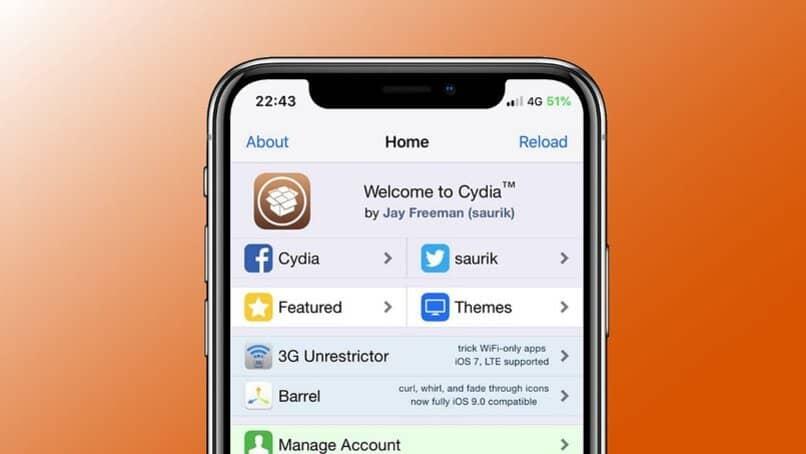 instalacion de cydia app