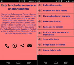 descargar Colo Colo vs U Chile Canticos para Android2