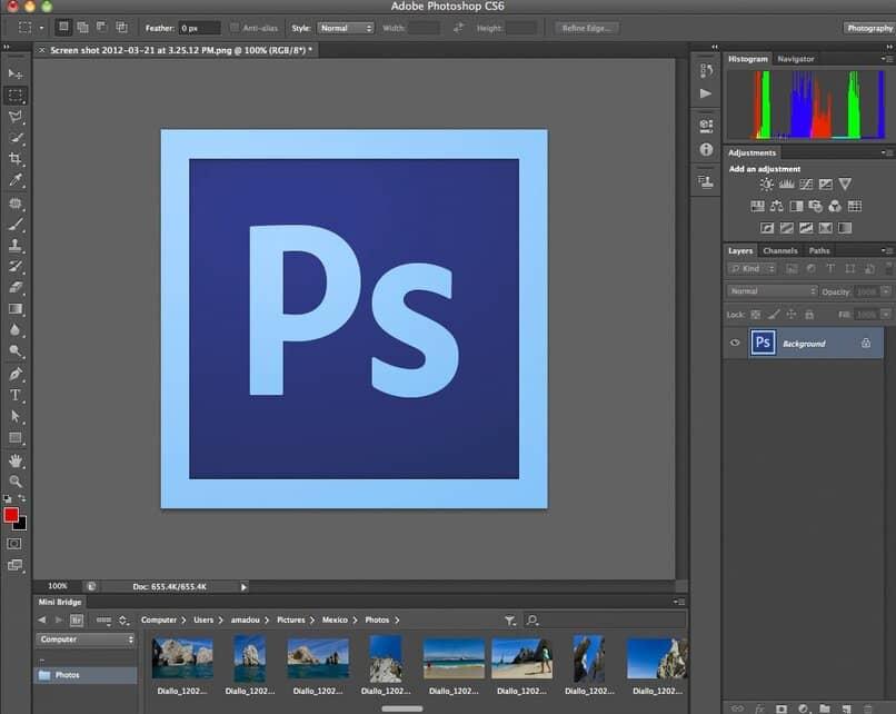 manipulacion de adobe photoshop