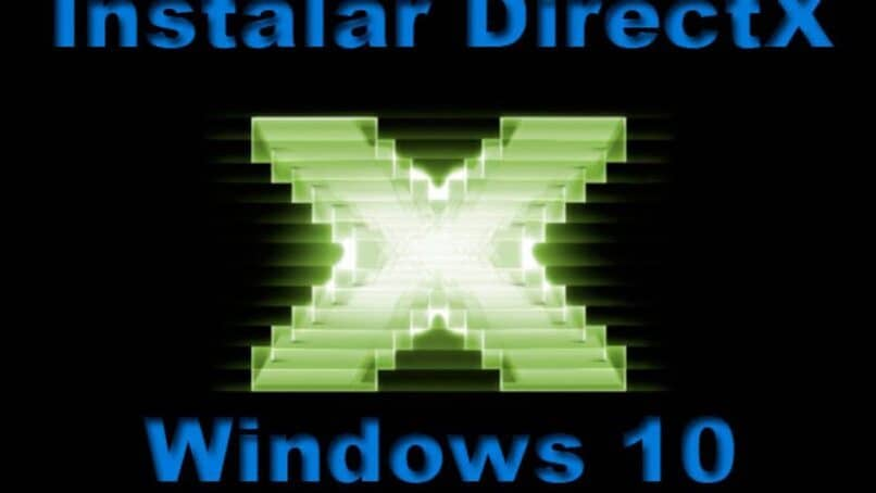 instalar directx windows 10