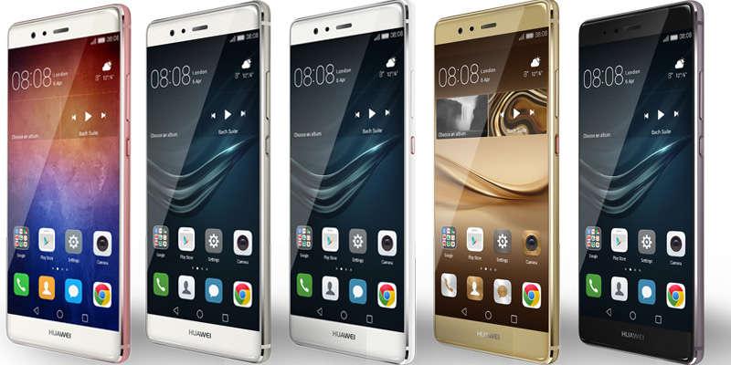 iphone 7 plus  parativa con huawei p9 plus rwwes
