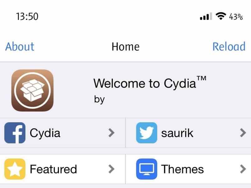 descarga de aplicacion cydia