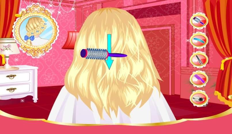 juegos niñas peluqueria