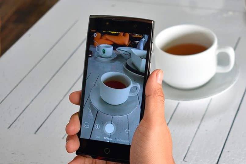 captura de foto con móvil Android