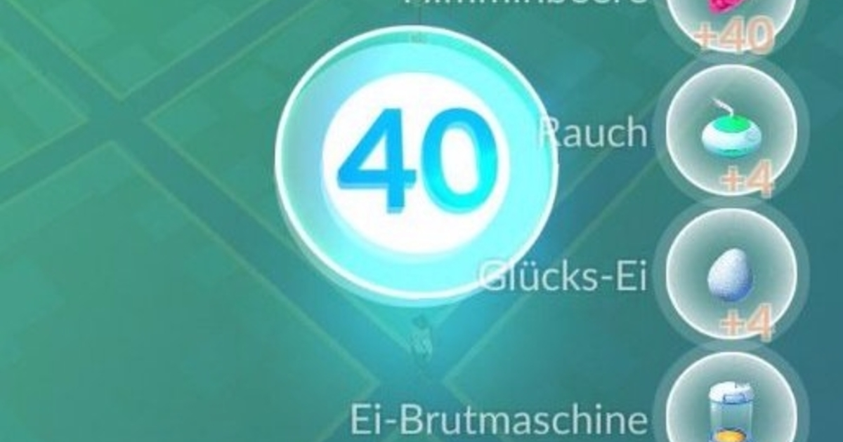pokemon go nivel 40