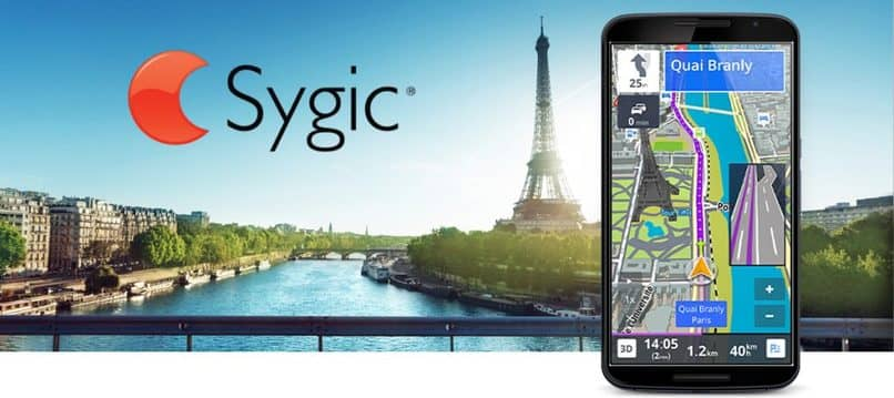 sygic app de mapa para movil