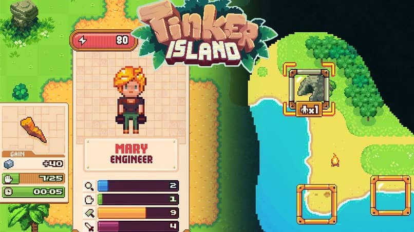 trinker island pasar juego