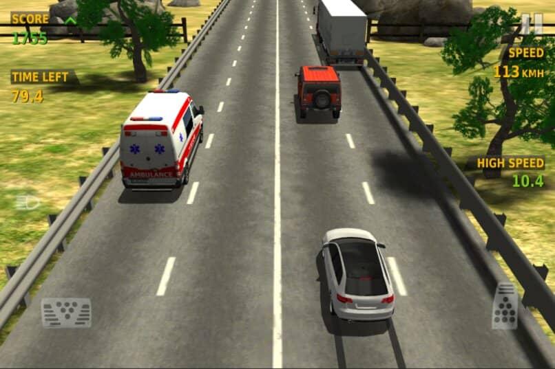carreteras caminos curvas rectas