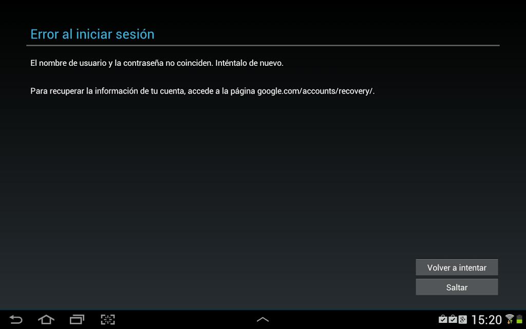 android-no-acepta-contrasenas