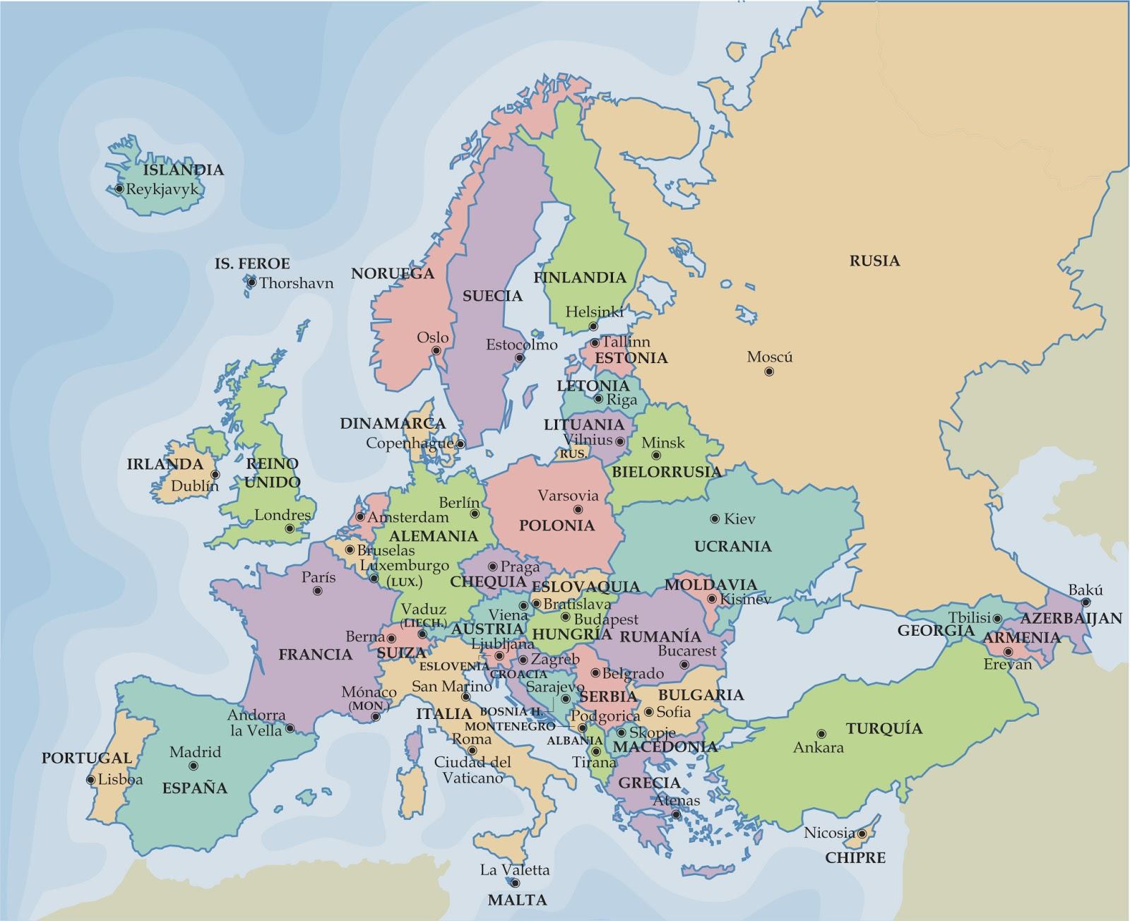 mapa-politico-de-europa