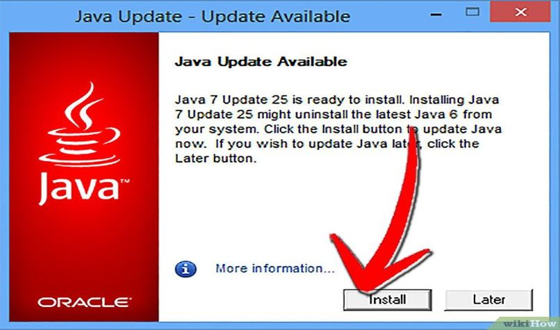 aprender actualizar version java pc