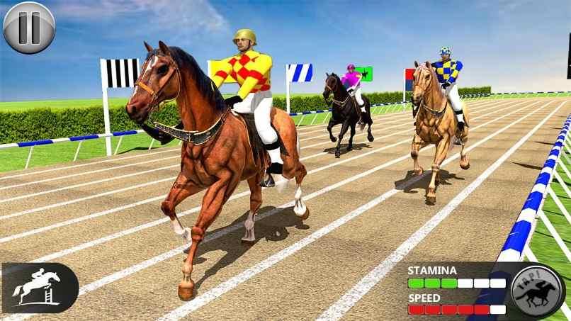 juegos caballos carreras caballos jockeys pistas