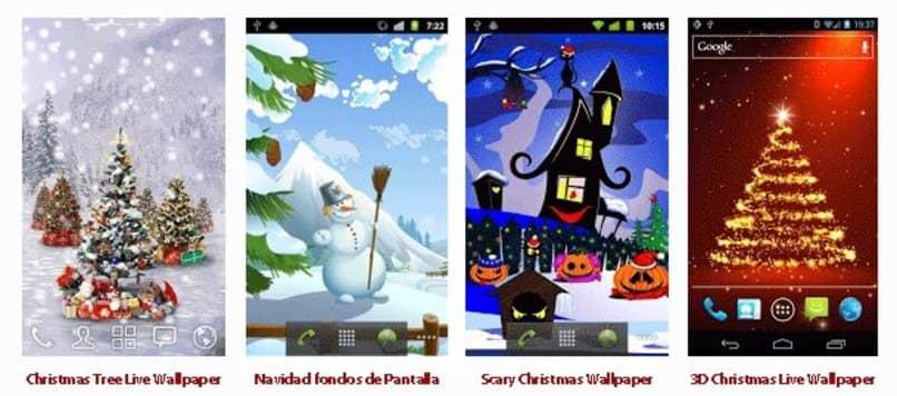 launcher de navidad para android