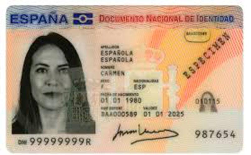 dni mujer espanola