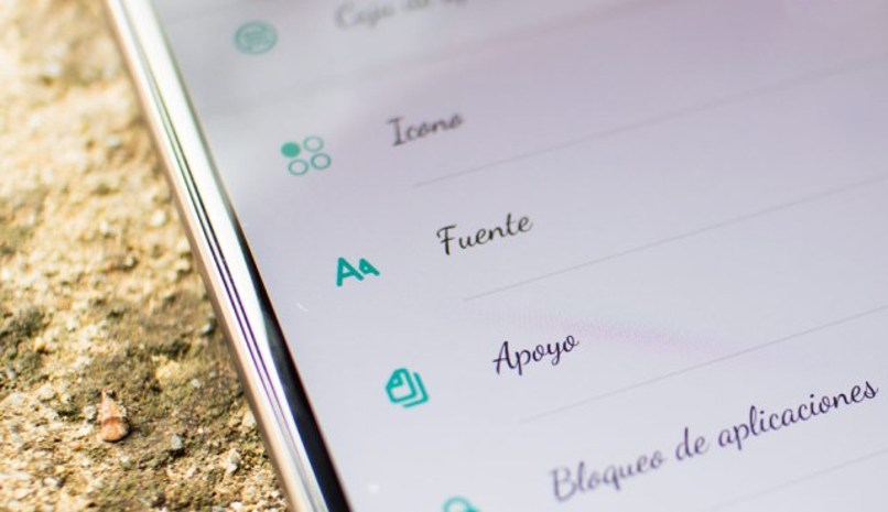 cambiar fuentes android