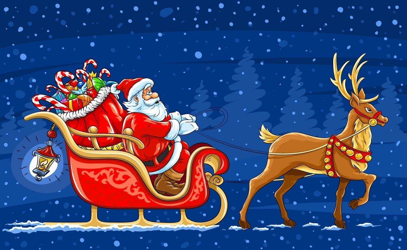 llamar a Santa Claus
