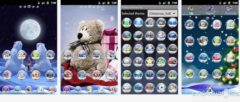 descargar tema para android de navidad