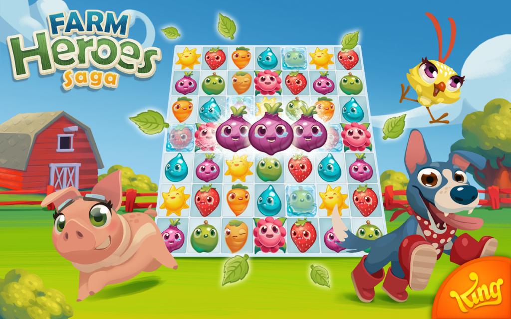 Como Descargar Farm Heroes Saga Gratis Para Android Mira Como Hacerlo