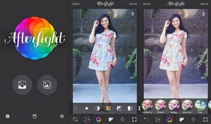 aplicacion afterlight editar videos