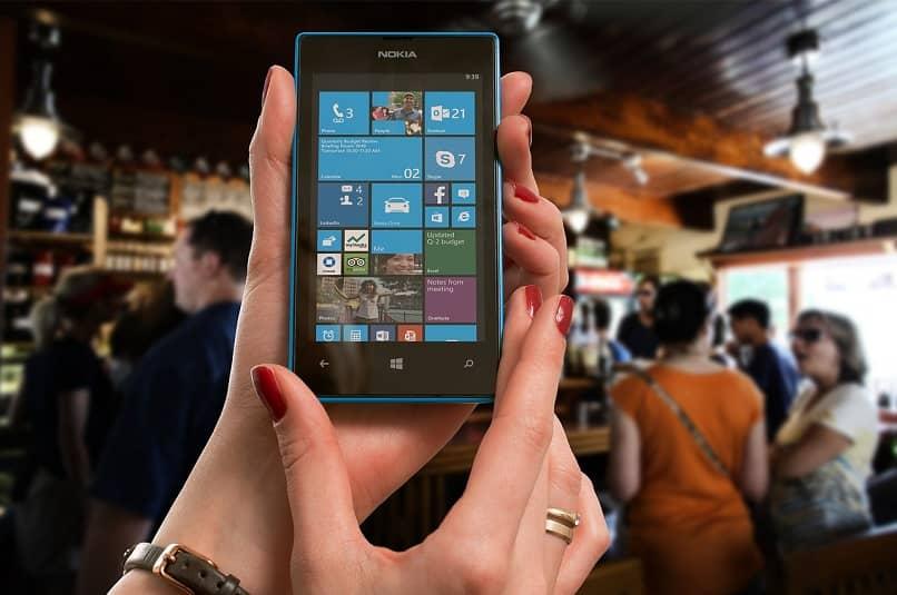 contraseñas WiFi guardadas en móviles nokia lumia