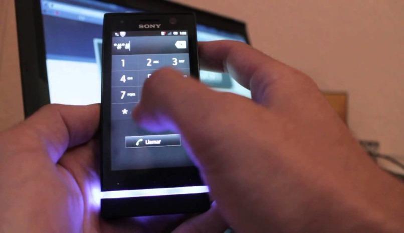 recibir datos moviles sony