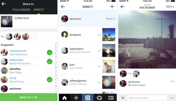 Resultado de imagen para instagram borrando mensajes