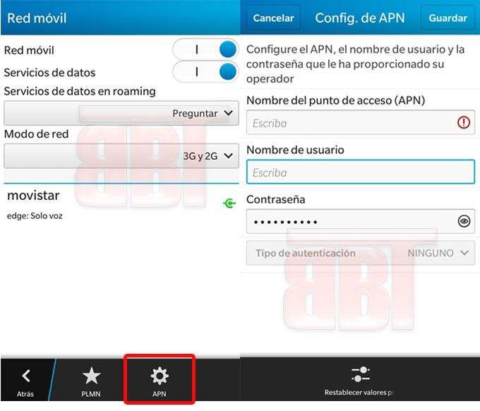 configurar apn movistar para iphone