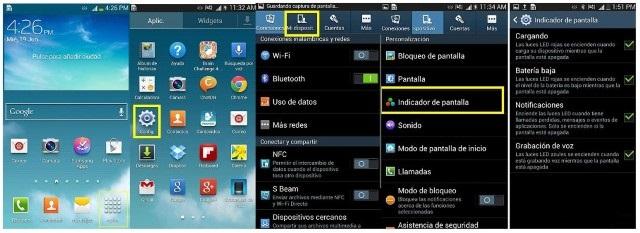 Cómo Activar la Luz del Led de Notificaciones Samsung | Mira