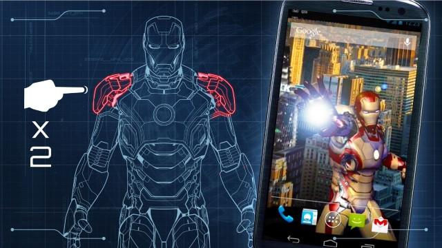 Descarga el tema de iron man para android el mejor for Temas anime para android
