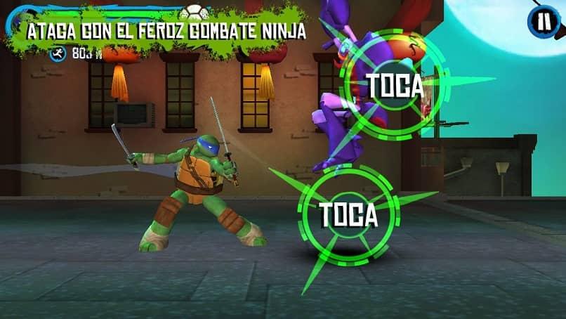 juego torutugas ninja