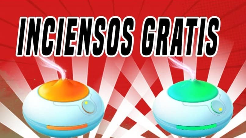 forma de encontrar inciensos gratis