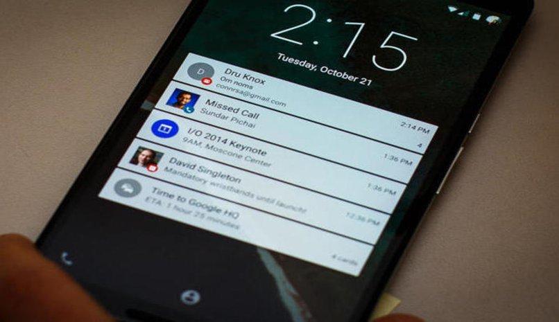 desactivar notificaciones movil android