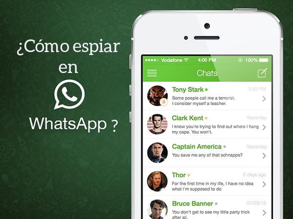 App para espiar whatsapp gratis - Pirater compte whatsapp android