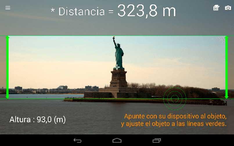 Medir distancia al caminar
