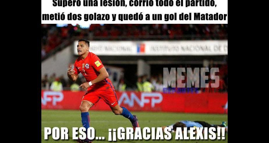 chile vs uruguay memes