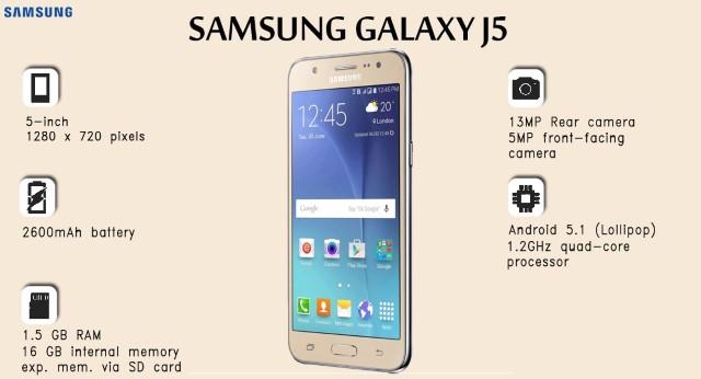 resetear Samsung J5