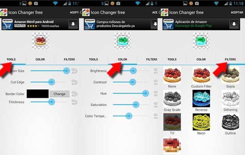 cambia icono y nombre de las app en android